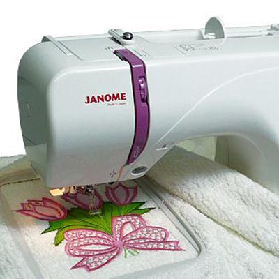 Вышивки в janome 350