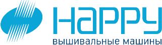 вышивальные машины Happy лого